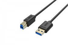 Cáp USB máy in 3.0 1.5m Unitek Y-C 4006GBK