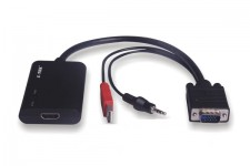 Cáp VGA To HDMI + USB + Audio Z-Tek ZE-577C