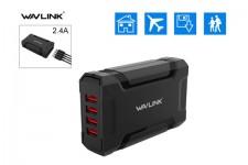 Sạc USB 4P Wavlink UH1044 5V-7A