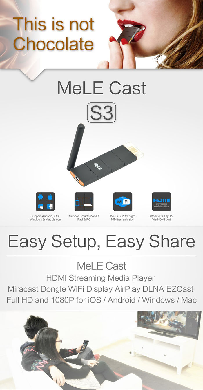 hdmi dongle mele s3