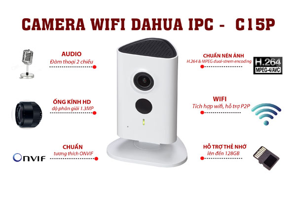 camera dahua ipc c15p