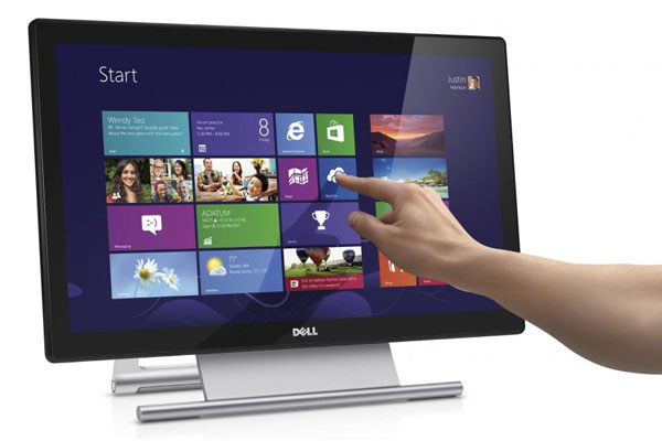 man hinh dell s2240t led 21 5 inch touch screen