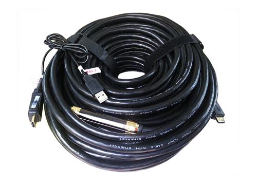Cáp HDMI 40m Z-Tek (ZE-634)
