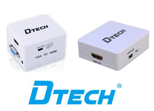Bộ chia VGA sang HDMI Dtech (DT-6527)