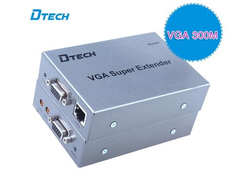 Bộ chuyển đổi VGA to LAN Dtech (DT-7020B)