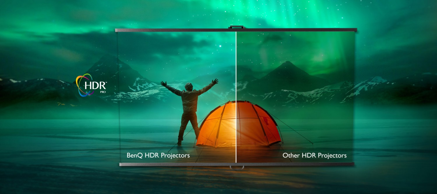 HDR-PRO offers greater brightness, contrast range, and image optimization