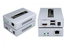 Bộ nối dài HDMI + USB To LAN 100m