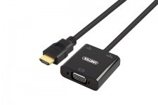 Cáp HDMI To VGA + Audio Unitek Y-6333