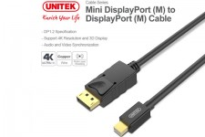 Cáp Mini Displayport To Displayport 2m Unitek Y-C611