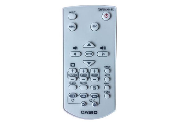 remote may chieu casio
