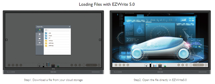 Loading Files with EZWrite 5.0