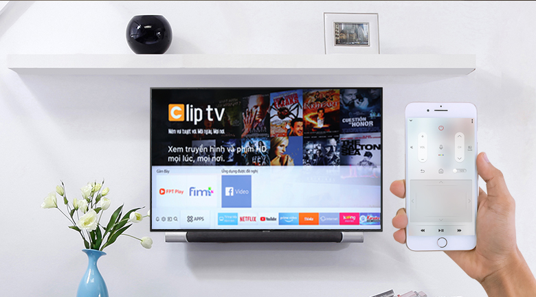 Smart Tivi Samsung 4K 55 inch UA55RU7200 - SmartThings