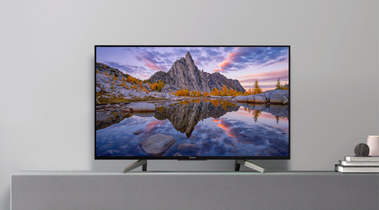 Android Tivi Sony 43 inch KDL-43W800G - Thiết kế
